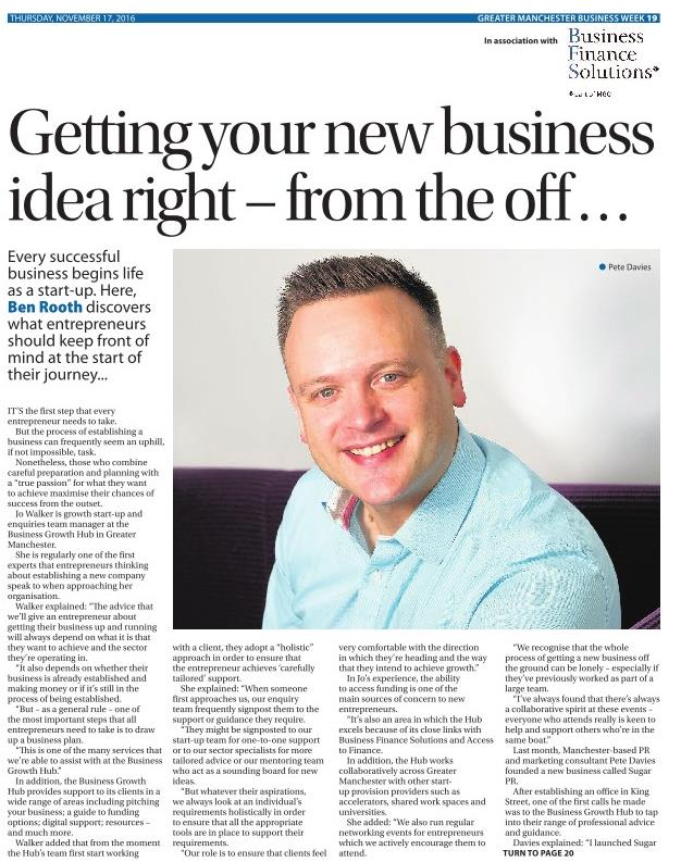 greater manchester business week interview