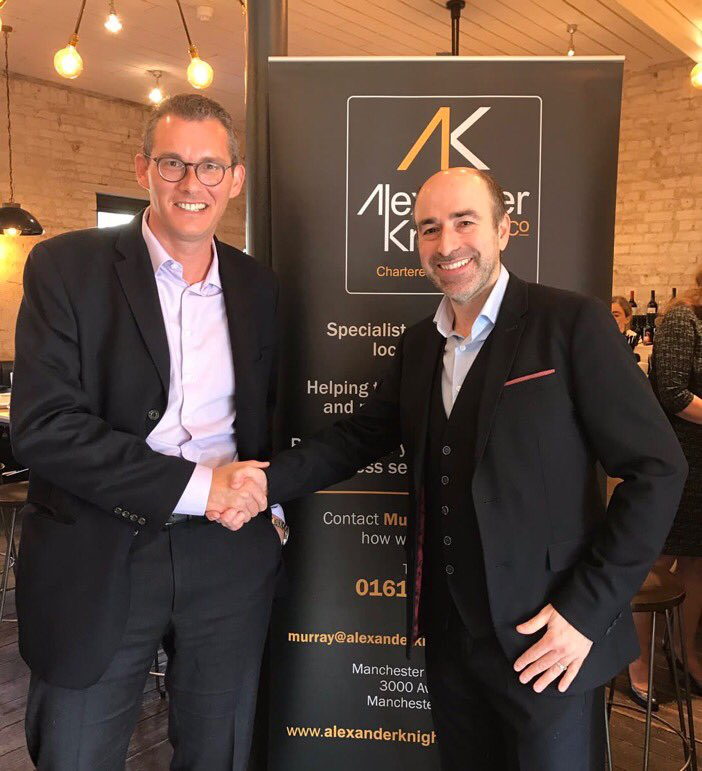 Matt Davies (CEO of Tesco UK & ROI) and Murray Patt (Founder, Alexander Knight & Co)
