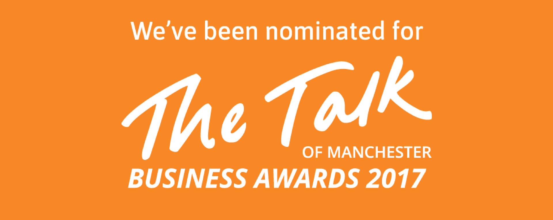 Sugar PR shortlisted for Talk of Manchester Business Awards