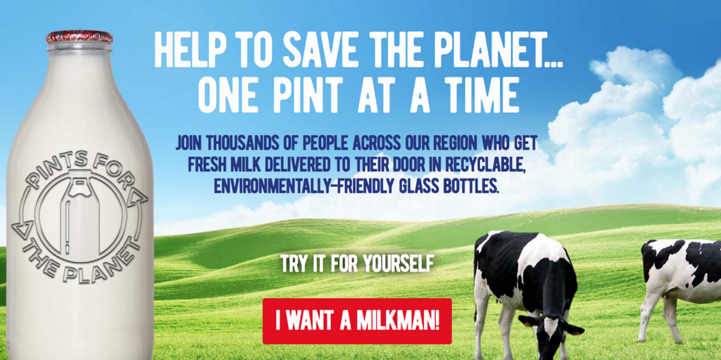 glass milk bottle pr campaign