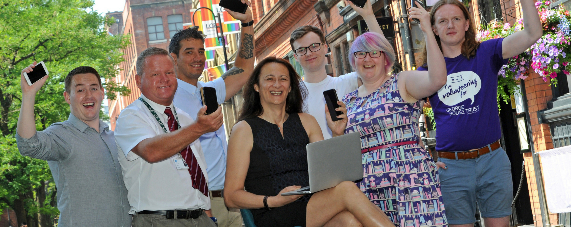 Tech PR agency in Manchester launches new campaign on Canal Street in famous Gay Village