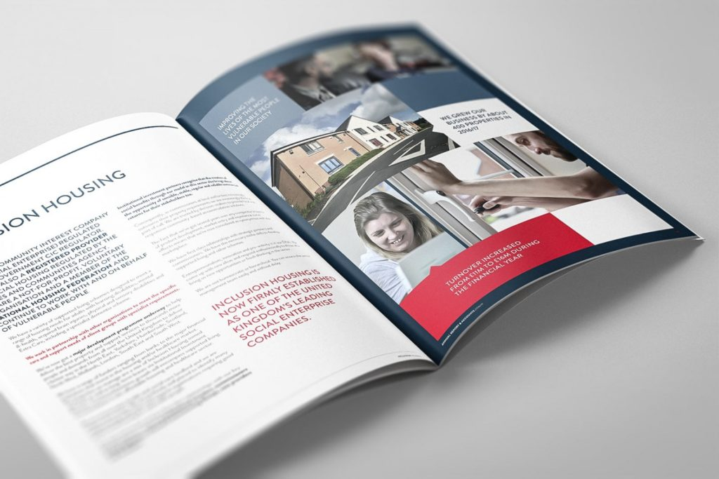 Housing Association Annual Report Design