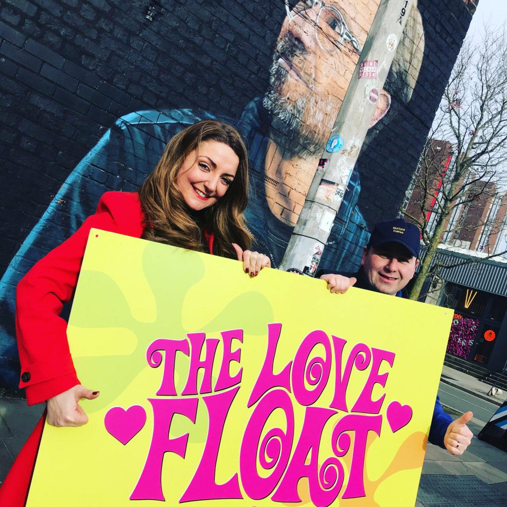 Sugar PR launches the Love Float PR campaign in Liverpool